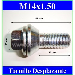 M14X1.50 Taper boulon déplaceur (En magasin)